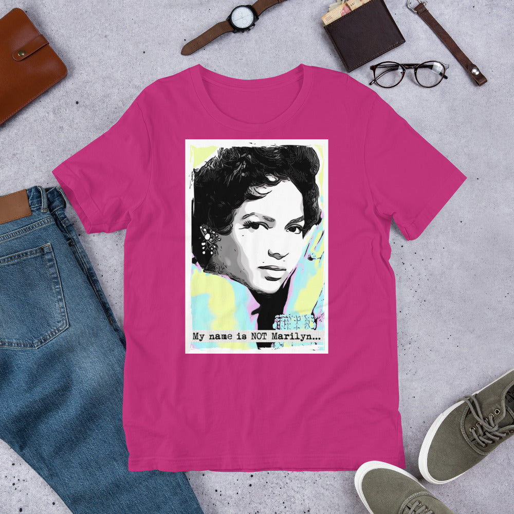 My name is NOT Marilyn - Short-Sleeve Unisex T-Shirt