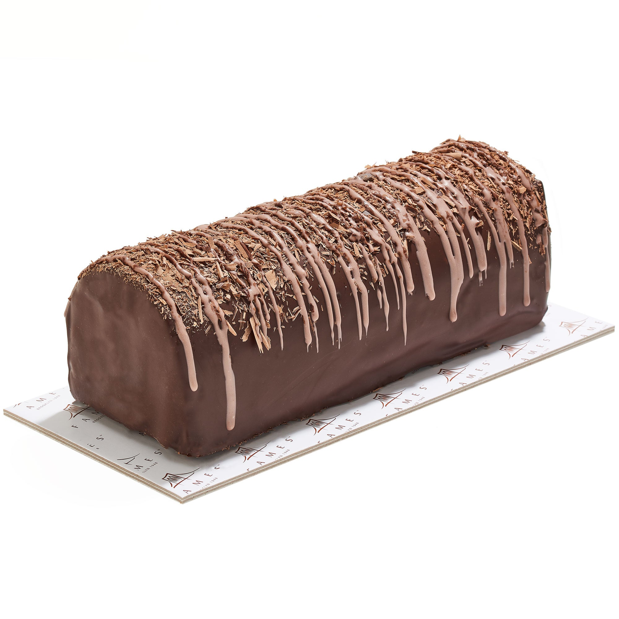 Chocolate fudge log