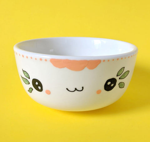 Soy candle - Bowl - Peach