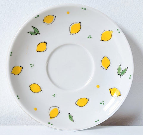 Saucer - Large - Lemon