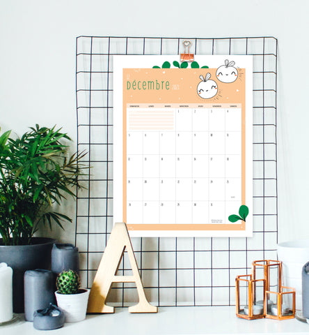 "Calendar ""milestone"" baby 2021 - Download"