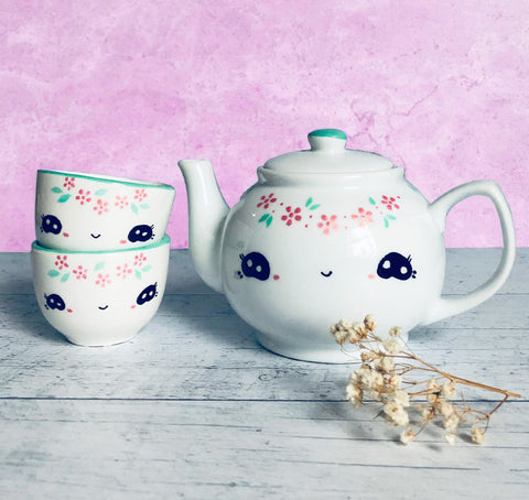 Tea set - Miss Lili-flower