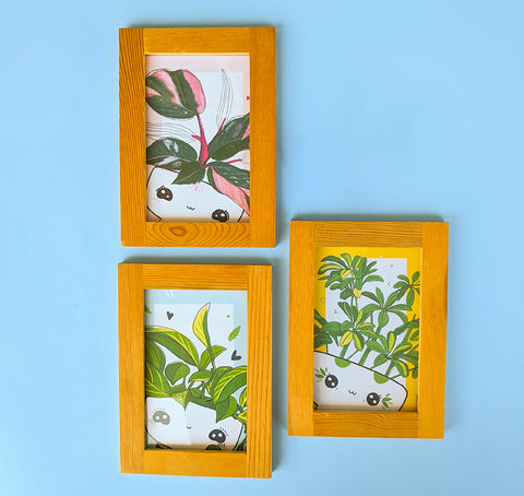 Small posters - Plants - Triptych