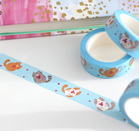 Washi tape - Chat