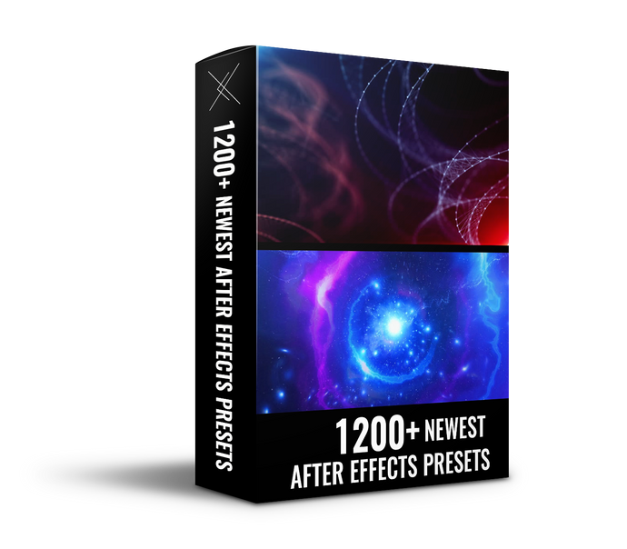 Newest After Effects Presets - 1200+