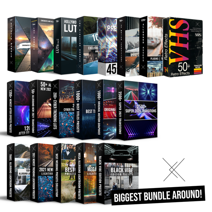 Ultimate Bundle: All our Collections - 10.000+