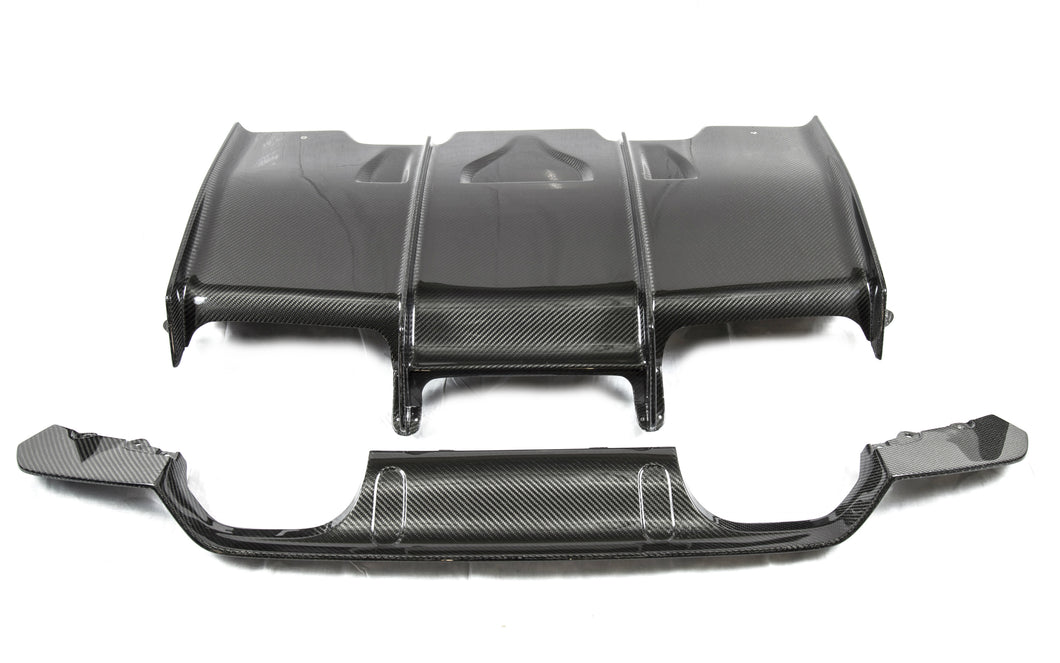 PSM Dynamic F8* M3/M4 Carbon Fiber Diffuser With Under Tray
