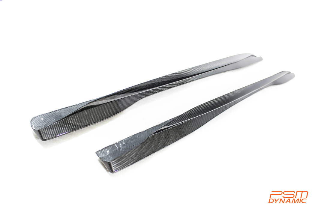 PSM Dynamic F87 M2C Carbon Fiber Side Skirts