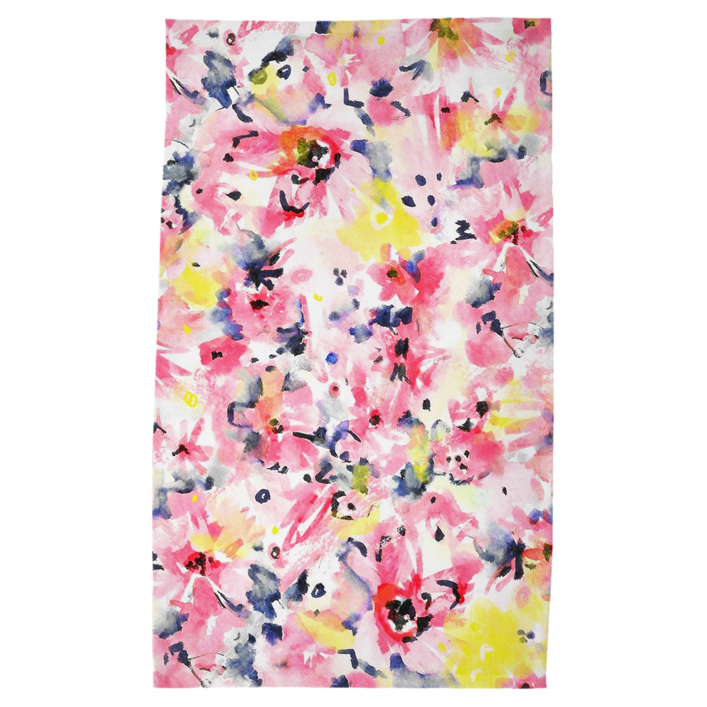 Load image into Gallery viewer, Tea Towel - Watercolor Floral Design