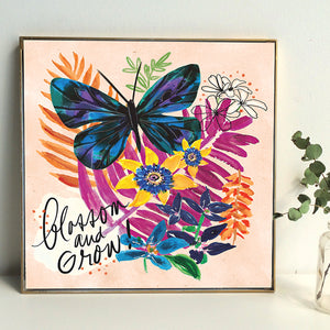 Blossom and Grow Art Print