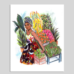 "Load image into Gallery viewer, ""Havana Girl"" 8x10 Art Print"