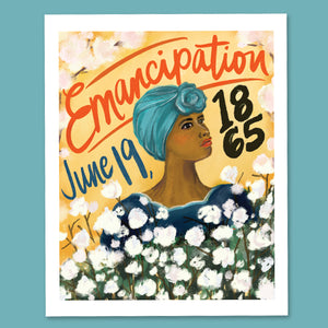 "Load image into Gallery viewer, ""Juneteenth"" 8x10 Art Print"