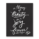 """A Thing of Beauty"" Art Print"