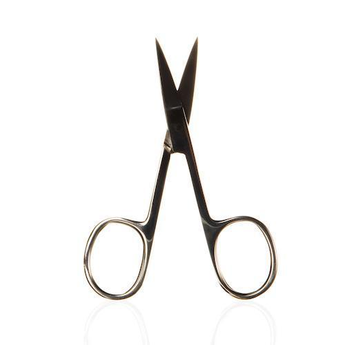 Bio Sculpture - Straight Blade Silver Scissors