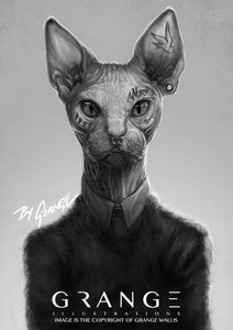 Urban Zoo 'The Inked Cat'