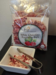 Raspberry Bark - White Chocolate