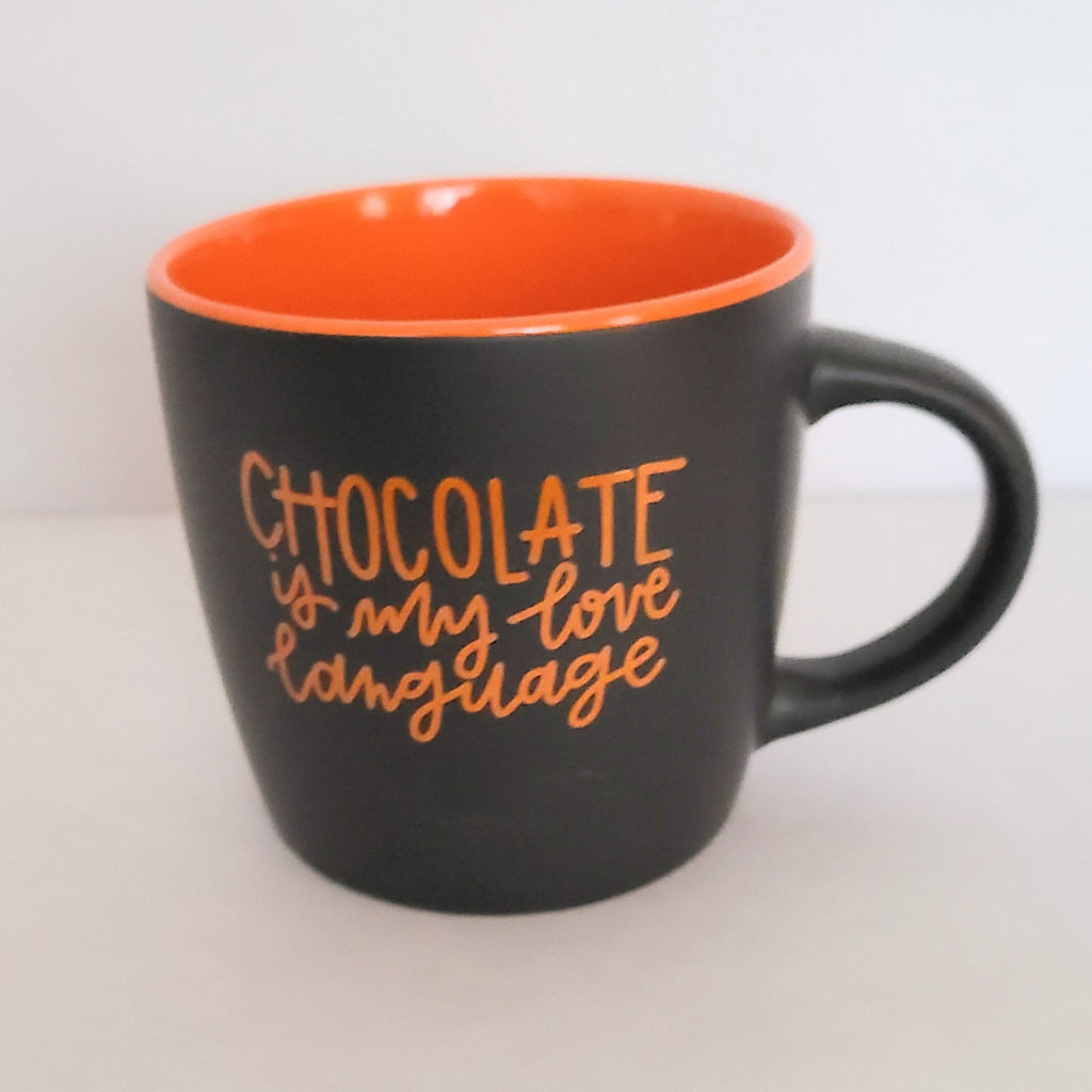 Chocolate Love Language Mug