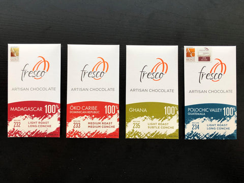 100% Flight - A Live Chocolate Tasting with Fresco's Founders
