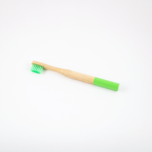 Load image into Gallery viewer, Zero Waste Bamboo Kids Toothbrush