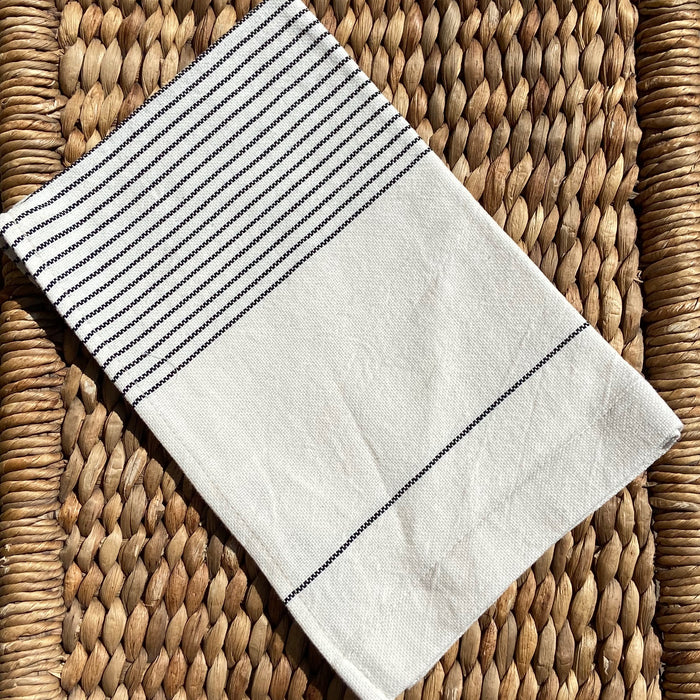 Pinstriped Ethiopian Tea Towel Collection