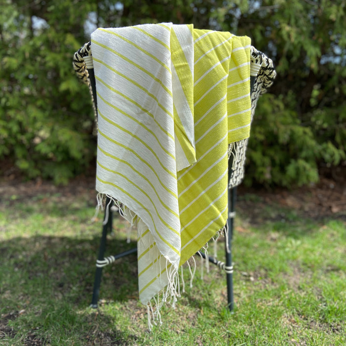 Striped Ethiopian Beach Towel Collection