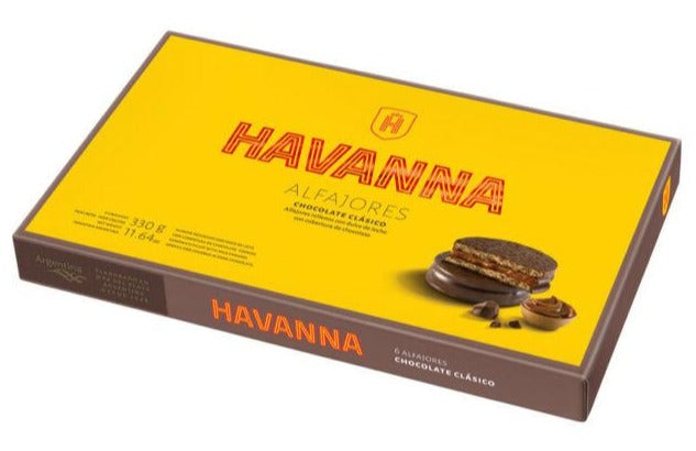 Luxury Alfajor Havanna x6