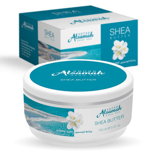 Shea Body Butter -Jasmin Scent with Dead Sea Minerals