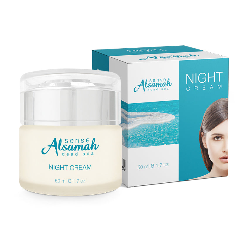 Intensive Night Cream with Dead Sea Minerals
