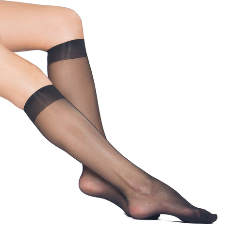 Perfect Ultra Sheer 20 Den, Velvet Touch, Reinforced Toe KneeHigh