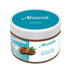 Arabica Coffee Body Scrub with Dead Sea Minerals