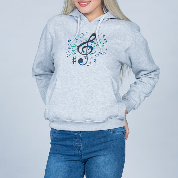Women's Hoodies Printed Sweatshirt