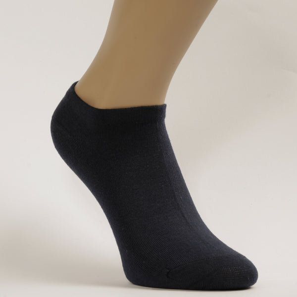 3-Pack Women No-Show Simple, Sport Cotton socks