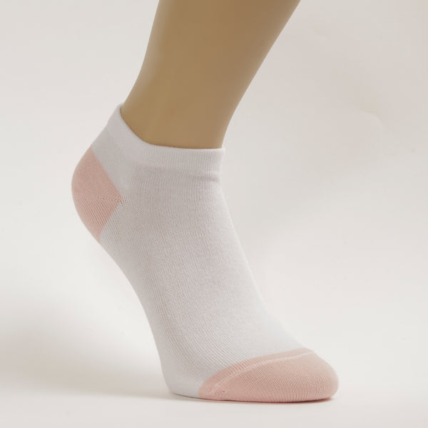 3-Pack Women ankle Patterned Sport, Cotton socks