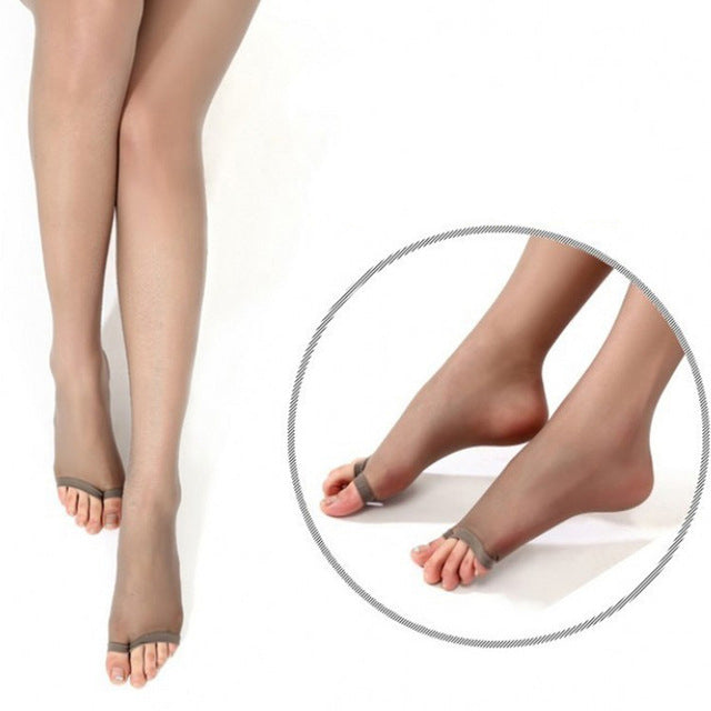 Ultra Sheer 15 Den, Silk Reflections Soft-Control Top, Sandal Foot Pantyhose