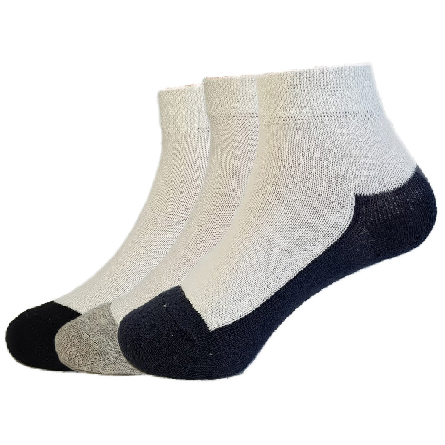 3-Pack Ankle Patterned 503 Style Socks
