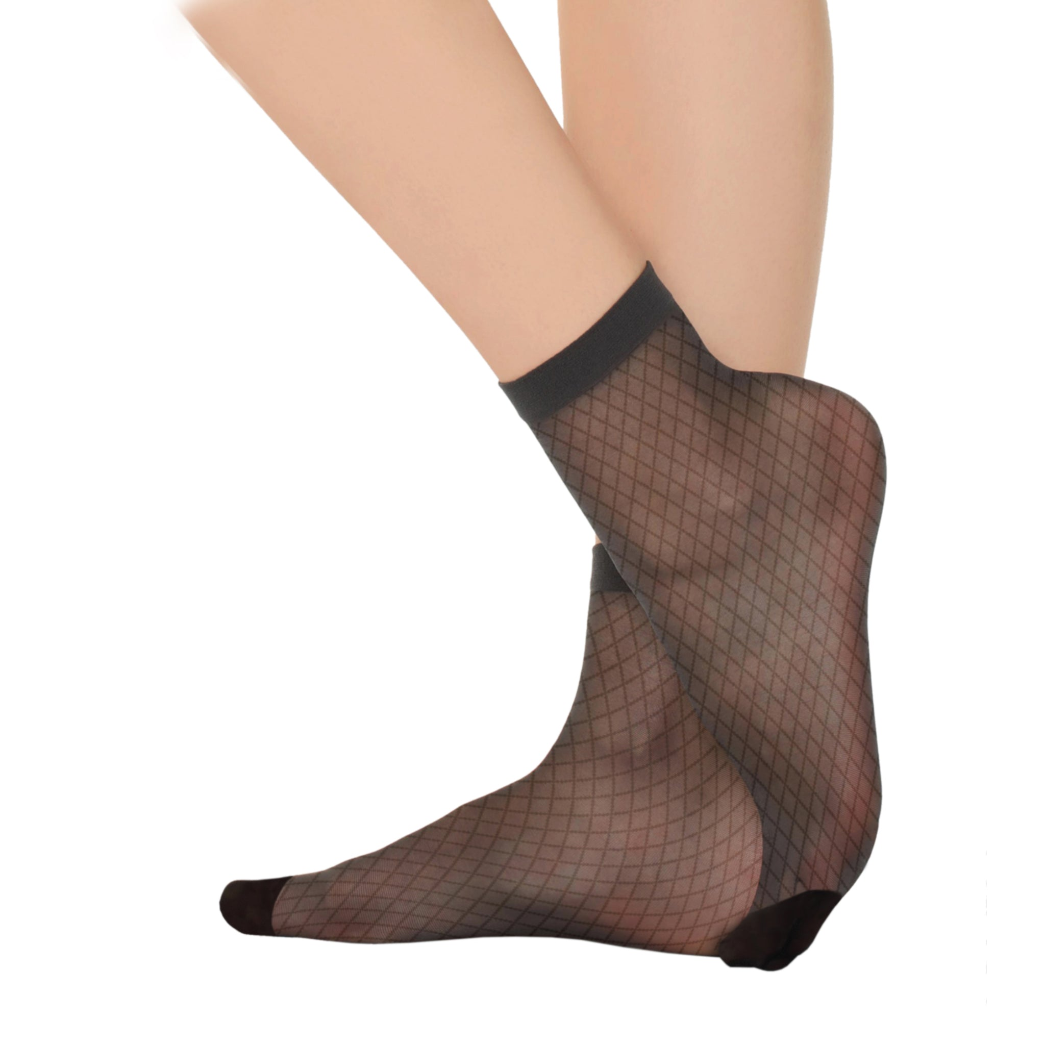Fashion, Remas Style, Ultra Sheer 20 Den Patterned Socks