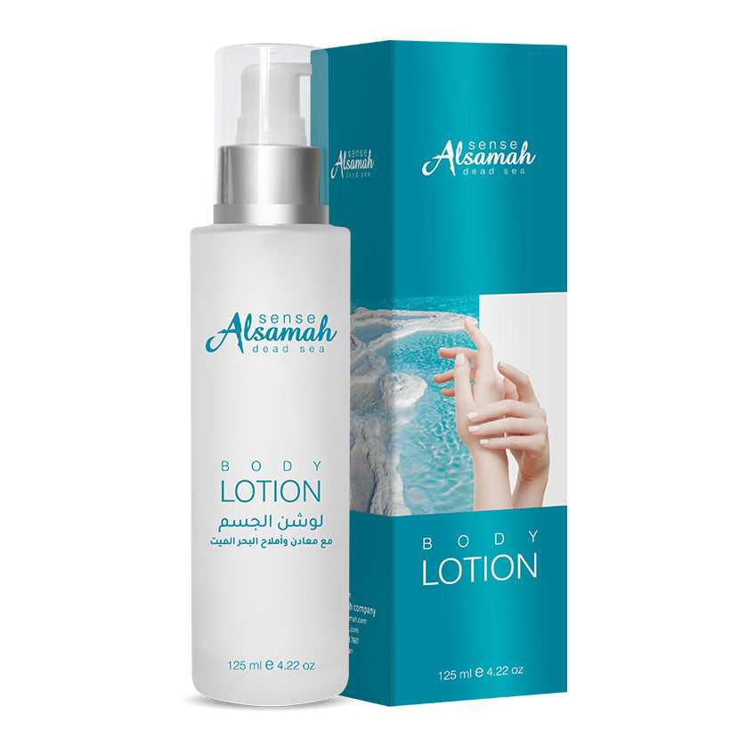 Mineral Rich Body Lotion with Dead Sea Minerals
