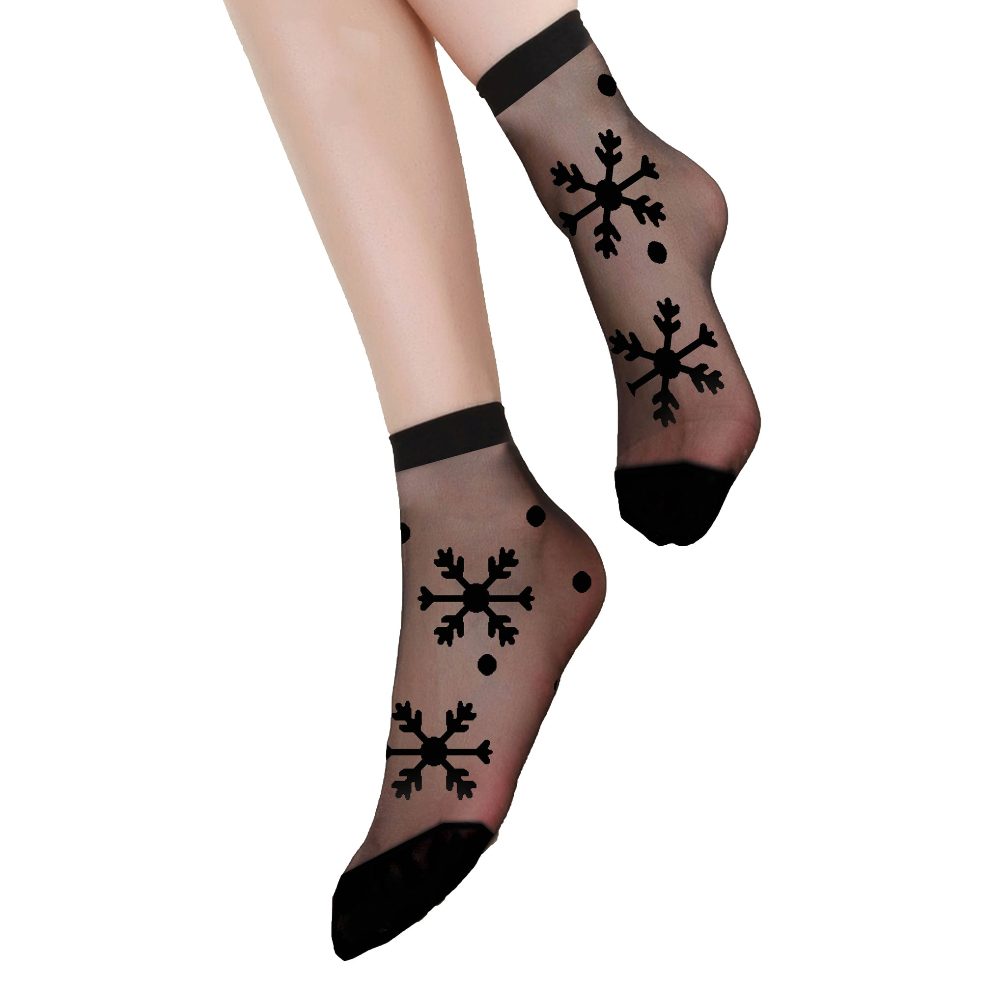 Fashion, Oanez Style, Ultra Sheer 20 Den Patterned Socks