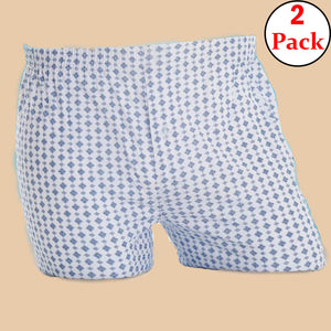 95% Cotton, 5% Elastane Men's Printed Boxer