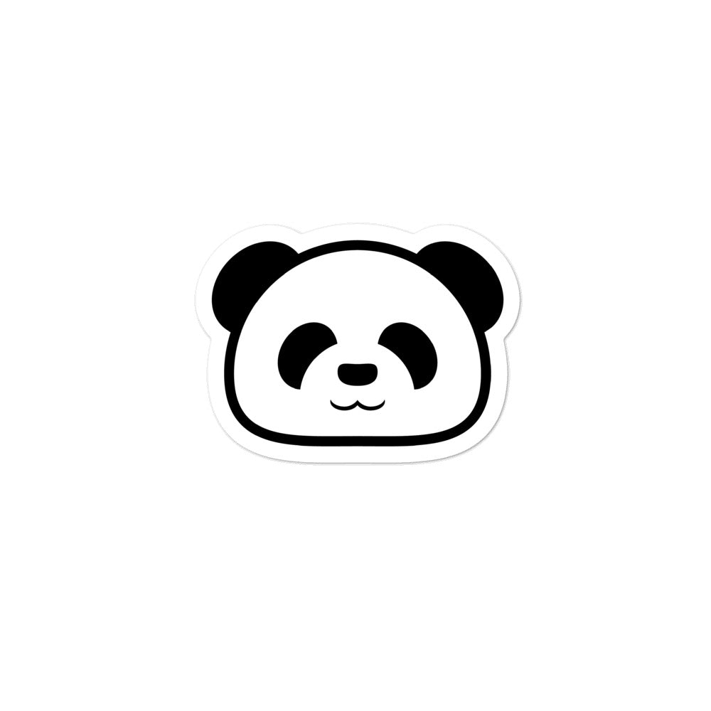 Black Panda Sticker