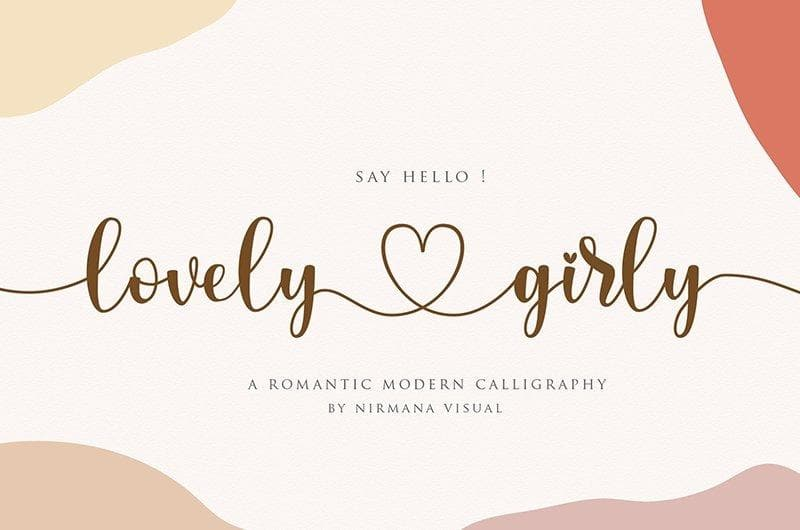 Collection of 168 Handwritten Fonts - Social Babe