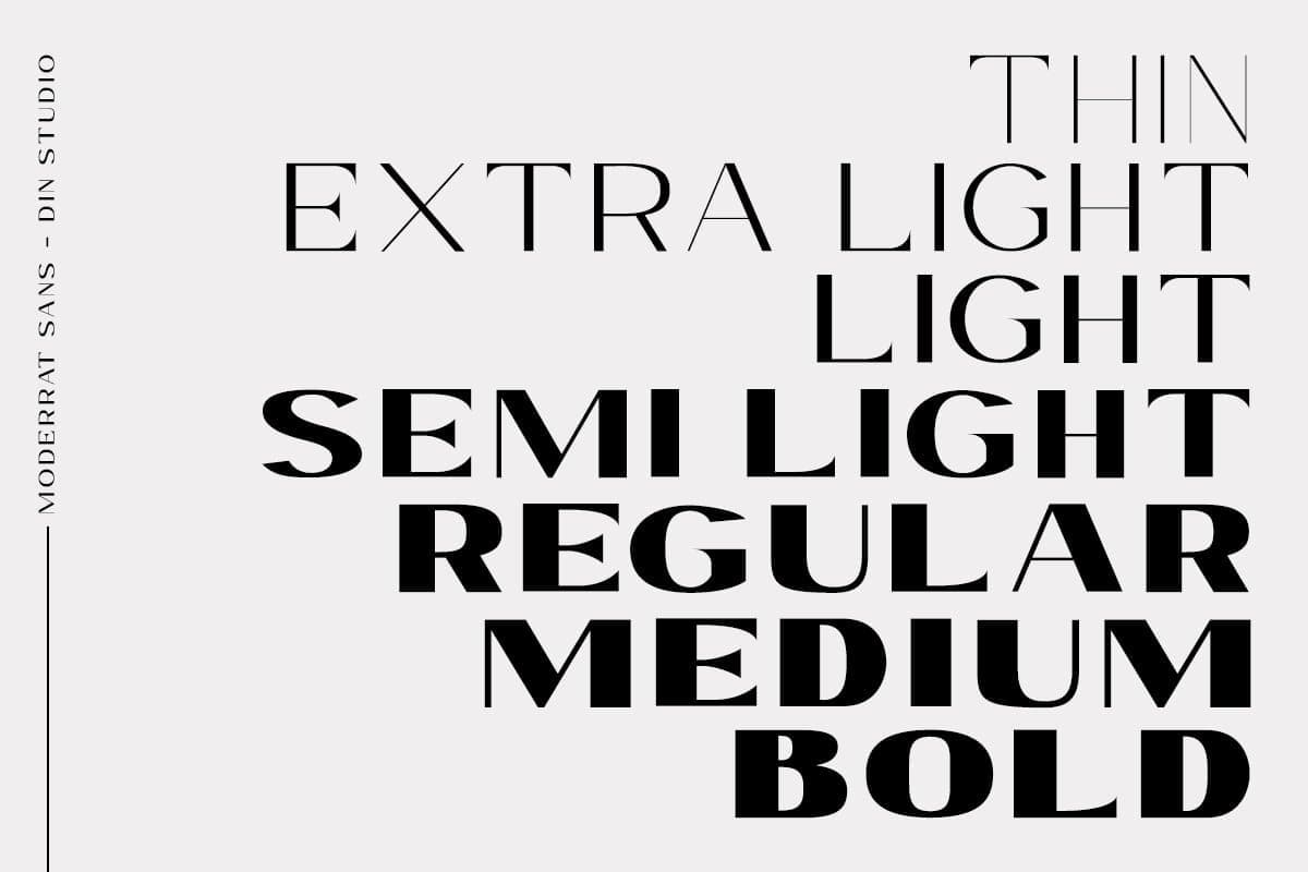 Collection of 320 Sans Serif Fonts - Social Babe