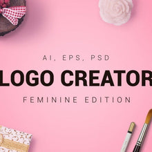 Load image into Gallery viewer, Feminine Logo Creator - Social Babe