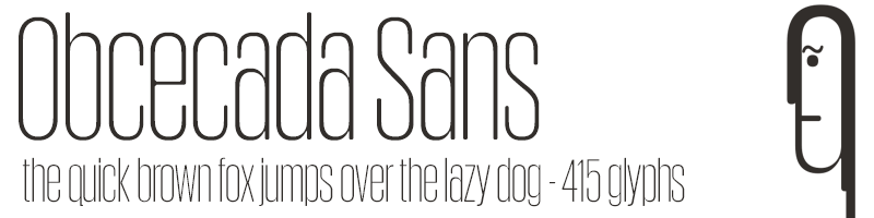 Collection of 320 Sans Serif Fonts