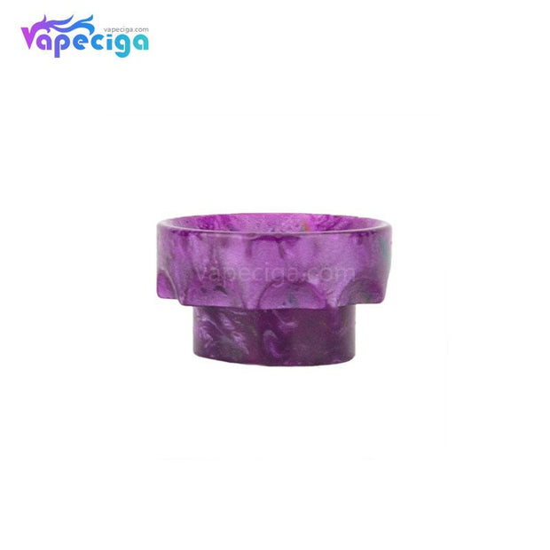 Purple REEVAPE AS108 Short Resin 810 Drip Tip