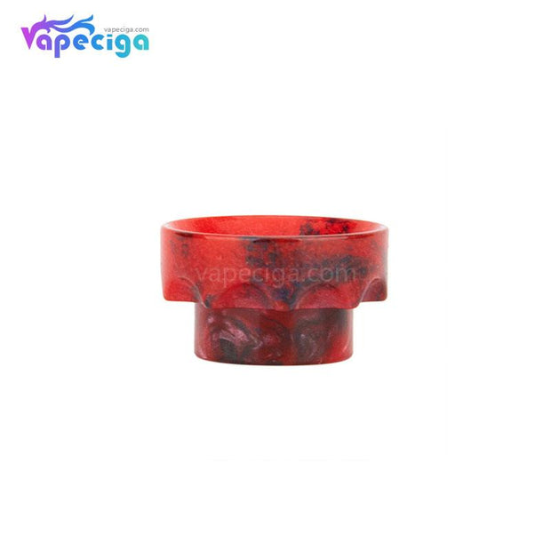 Red REEVAPE AS108 Short Resin 810 Drip Tip