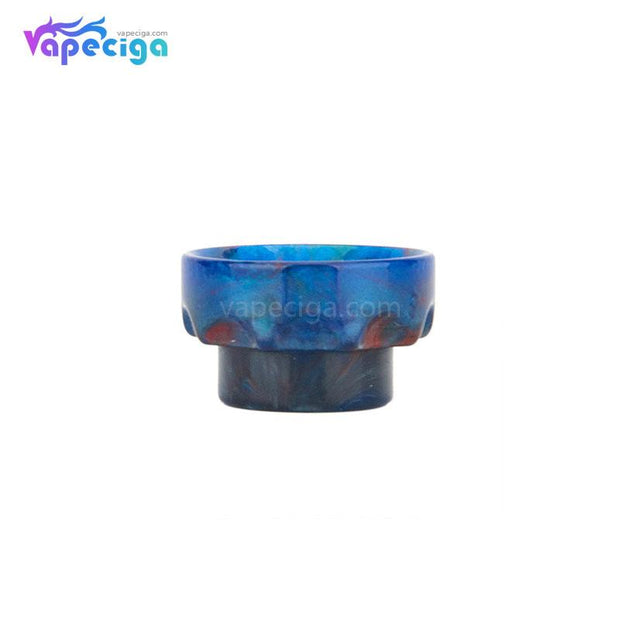 Blue REEVAPE AS108 Short Resin 810 Drip Tip