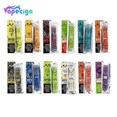 Ryse Bar Disposable Vape Device 400 Puffs 10pcs