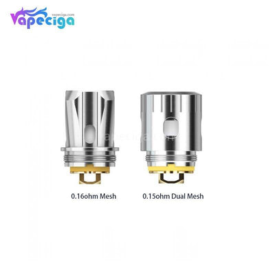 Smoant Ladon AIO Replacement 0.16ohm & 0.15ohm Dual MEsh Coil Choose