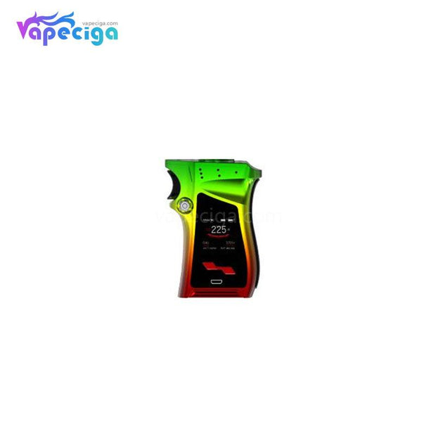 Smok Mag TC Box Mod 225W Right-hand Edition Rasta Color(Green)